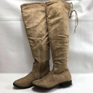 Charlotte Russe Women's Over The Knee Boots